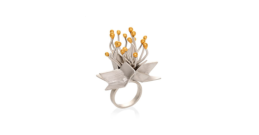 faith in a seed ring - lefflow jewelry