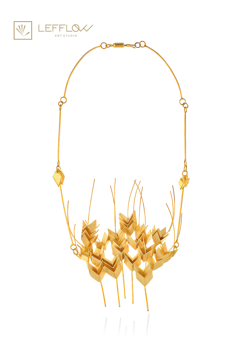 harvest necklace - lefflow jewelry